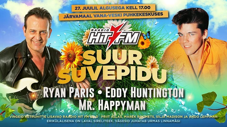 Ryan Paris & Eddy Huntington in Estonia 27.07.2019