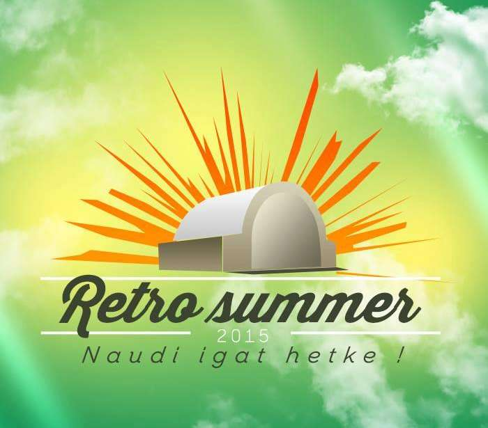 On the weekends in July a festival called 'Retro Summer' was held in Estonia.
